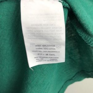 J. Crew Tops - J Crew Sagittarius Green T-shirt XL